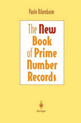 The New Book of Prime Number Records (Paperback)
