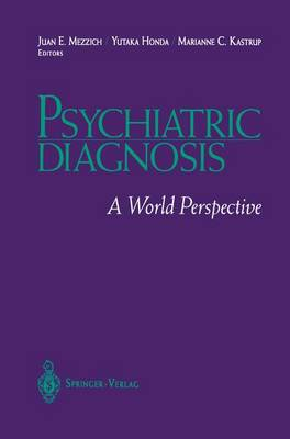 Psychiatric Diagnosis: A World Perspective (Paperback)