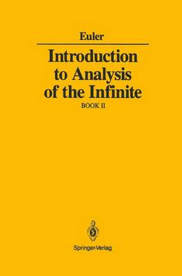 Introduction to Analysis of the Infinite: Book II (Paperback)