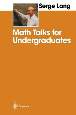 Math Talks for Undergraduates (Paperback)