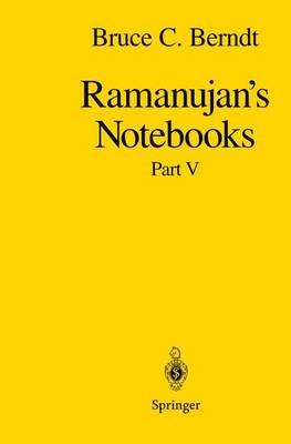 Ramanujan's Notebooks: Part V (Paperback)