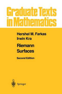Riemann Surfaces - Graduate Texts in Mathematics 71 (Paperback)