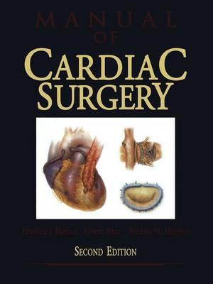 Manual of Cardiac Surgery (Paperback)