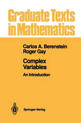 Complex Variables: An Introduction - Graduate Texts in Mathematics 125 (Paperback)