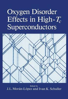 Oxygen Disorder Effects in High-Tc Superconductors (Paperback)
