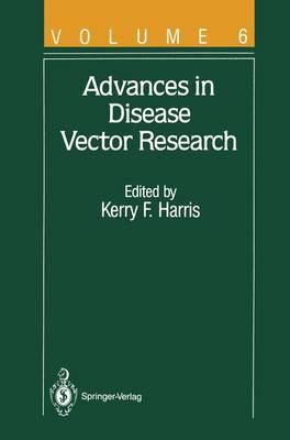 Advances in Disease Vector Research - Advances in Disease Vector Research 6 (Paperback)