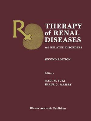 Therapy of Renal Diseases and Related Disorders (Paperback)
