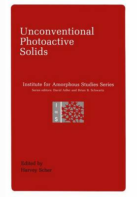 Unconventional Photoactive Solids - Emotions, Personality, and Psychotherapy (Paperback)