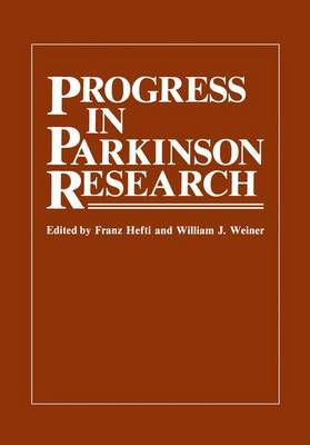 Progress in Parkinson Research (Paperback)