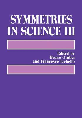 Symmetries in Science III (Paperback)