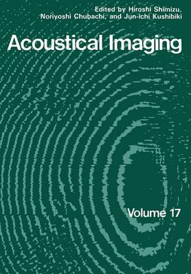 Acoustical Imaging - Acoustical Imaging 17 (Paperback)