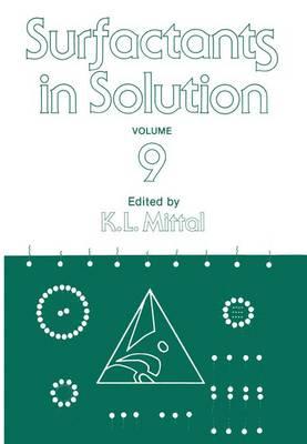 Surfactants in Solution: Volume 9 (Paperback)