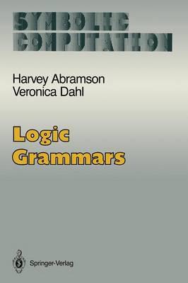 Logic Grammars - Symbolic Computation (Paperback)