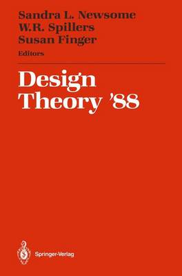 Design Theory '88: Proceedings of the 1988 NSF Grantee Workshop on Design Theory and Methodology (Paperback)