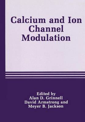 Calcium and Ion Channel Modulation (Paperback)