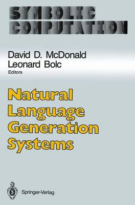 Natural Language Generation Systems - Artificial Intelligence (Paperback)