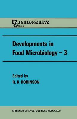 Developments in Food Microbiology-3 (Paperback)