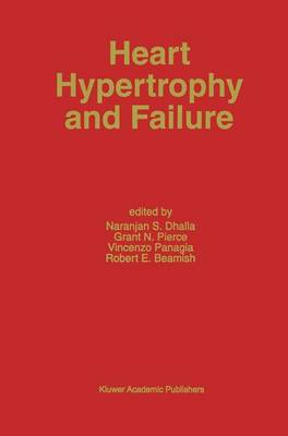 Heart Hypertrophy and Failure - Developments in Cardiovascular Medicine 169 (Paperback)