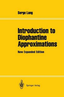 Introduction to Diophantine Approximations: New Expanded Edition (Paperback)