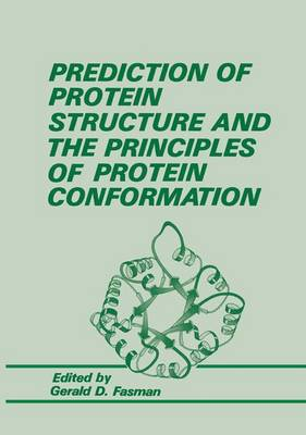Prediction of Protein Structure and the Principles of Protein Conformation (Paperback)