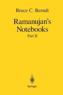 Ramanujan's Notebooks: Part II (Paperback)