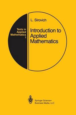 Introduction to Applied Mathematics - Texts in Applied Mathematics 1 (Paperback)