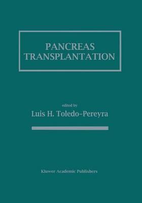 Pancreas Transplantation (Paperback)