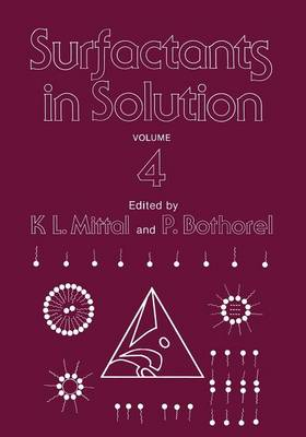 Surfactants in Solution: Volume 4 (Paperback)