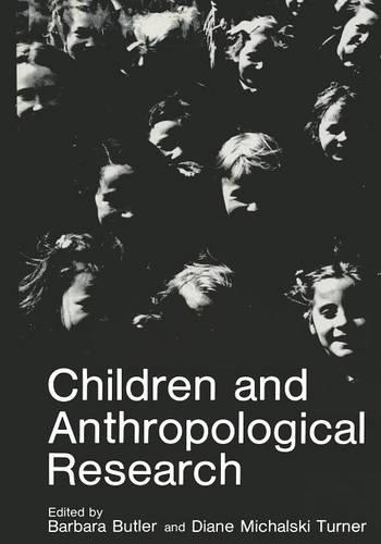 Children and Anthropological Research (Paperback)