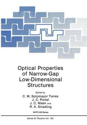 Optical Properties of Narrow-Gap Low-Dimensional Structures - NATO Science Series B 152 (Paperback)