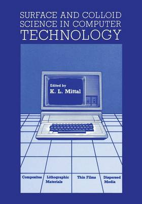 Surface and Colloid Science in Computer Technology (Paperback)