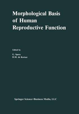 Morphological Basis of Human Reproductive Function (Paperback)