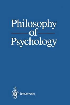 Philosophy of Psychology (Paperback)