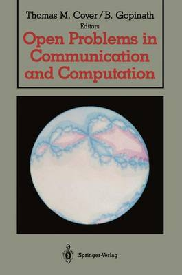 Open Problems in Communication and Computation (Paperback)