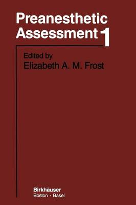 Preanesthetic Assessment 1 (Paperback)