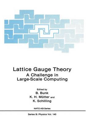 Lattice Gauge Theory: A Challenge in Large-Scale Computing - NATO Science Series B 140 (Paperback)