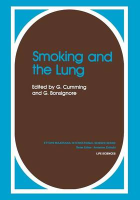 Smoking and the Lung - Physics of Solids and Liquids (Paperback)