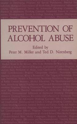 Prevention of Alcohol Abuse (Paperback)