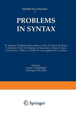 Problems in Syntax - Studies in Language (Paperback)