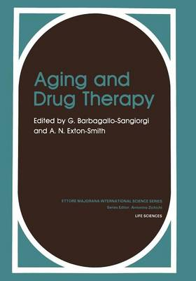 Aging and Drug Therapy - Physics of Solids and Liquids (Paperback)