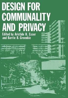 Design for Communality and Privacy (Paperback)