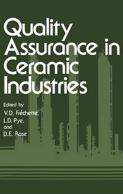 Quality Assurance in Ceramic Industries (Paperback)