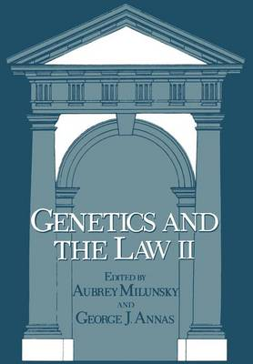 Genetics and the Law II (Paperback)