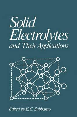 Solid Electrolytes and Their Applications (Paperback)