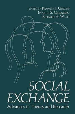 Social Exchange: Advances in Theory and Research (Paperback)