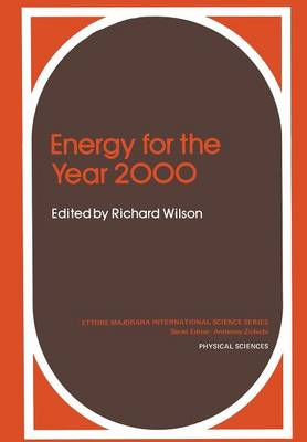 Energy for the Year 2000 - Ettore Majorana International Science Series 6 (Paperback)