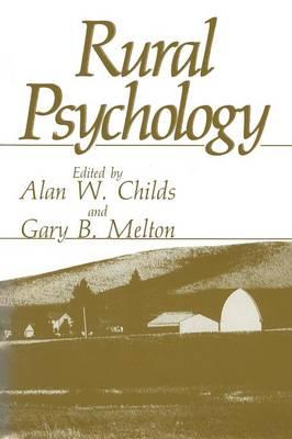 Rural Psychology (Paperback)