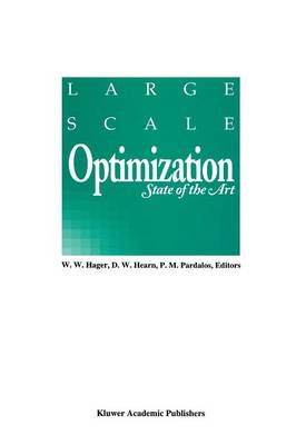 Large Scale Optimization: State of the Art (Paperback)
