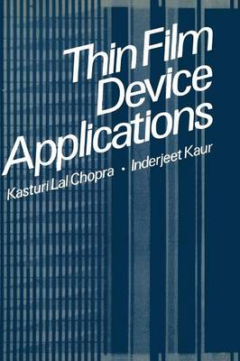 Thin Film Device Applications (Paperback)
