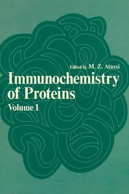 Immunochemistry of Proteins: Volume 1 (Paperback)